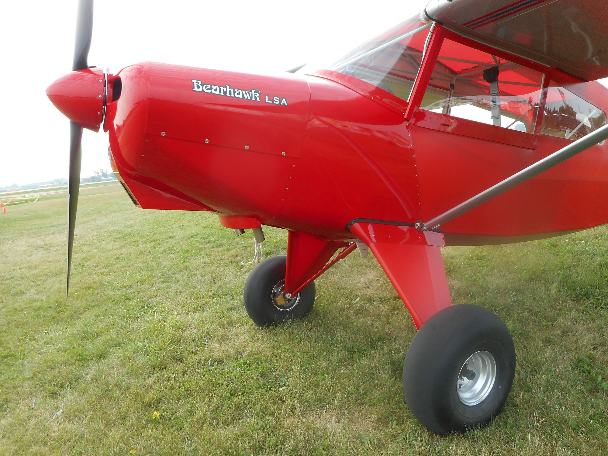 2-person LSA / piston engine / single-engine - Bearhawk