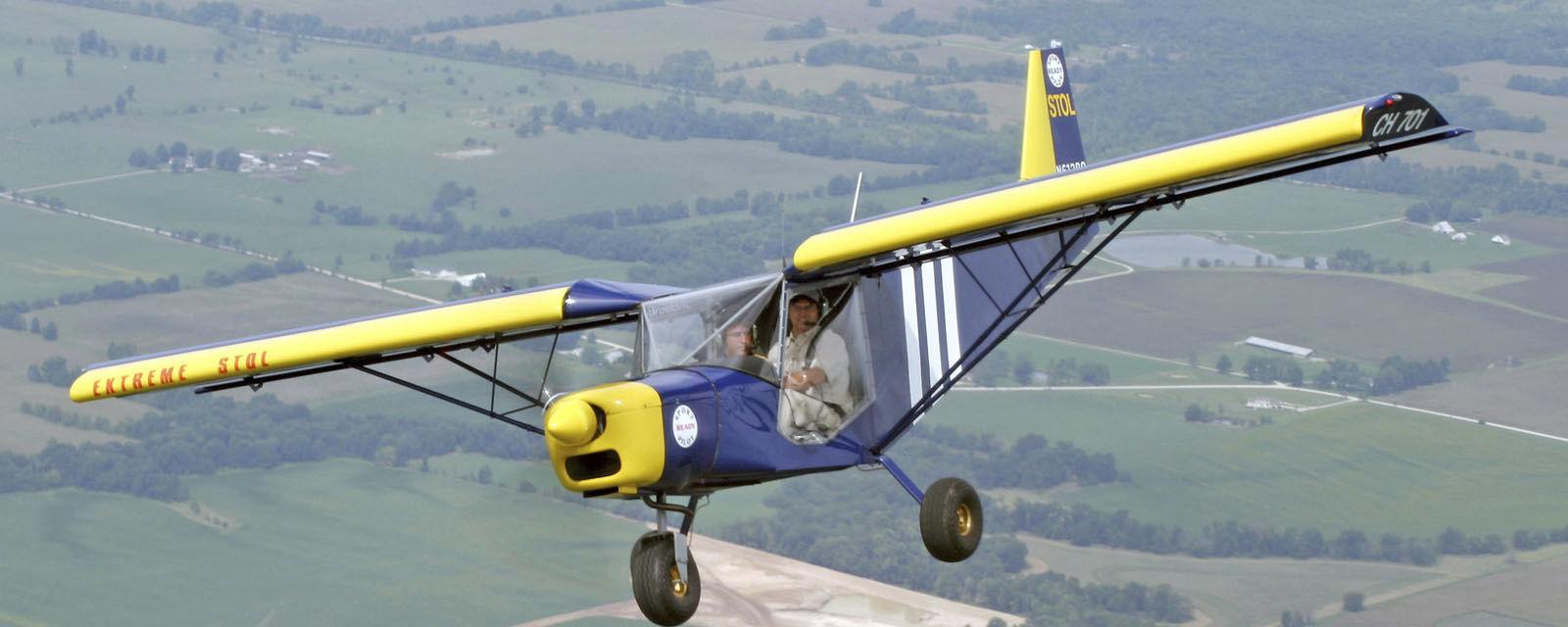 2-person LSA / 4-stroke engine / single-engine / kit - CH701