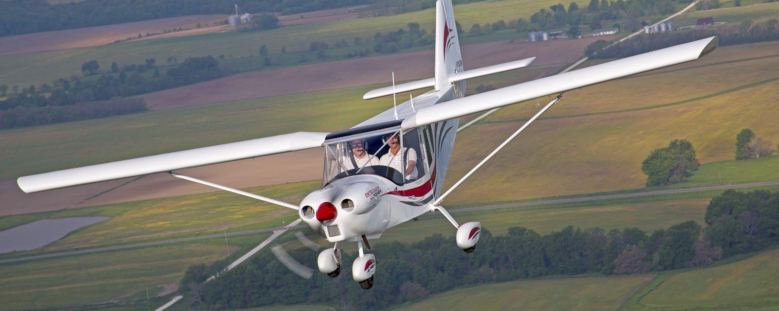 2-person LSA / 4-stroke engine / single-engine / kit - CH750