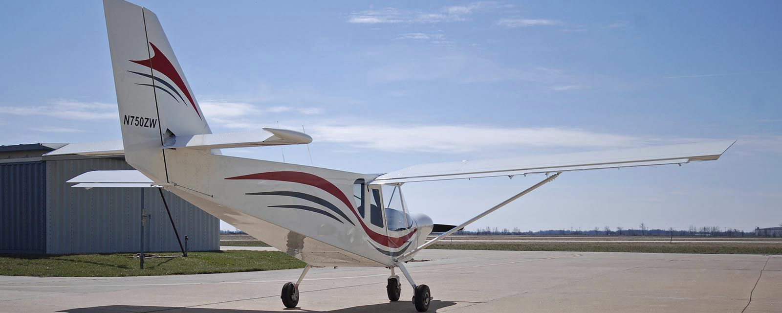 2-person LSA / 4-stroke engine / single-engine / kit - CH750 Cruzer