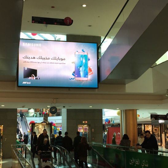 LED airport display / for indoor use - 6 mm SMD - Daktronics