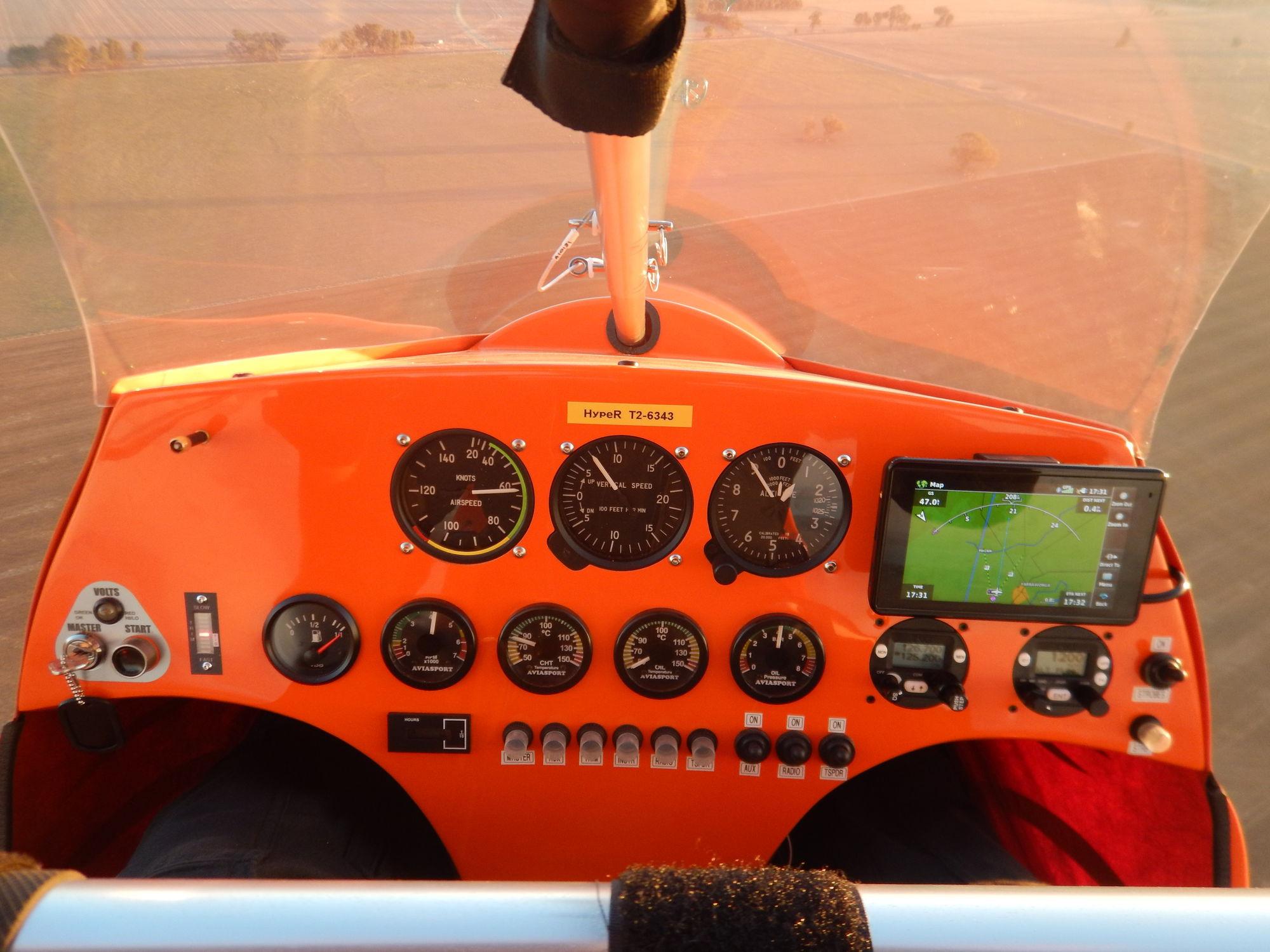 Two-seater ultralight trike / piston engine - HypeR - P&M