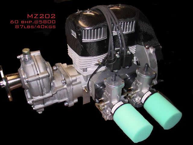 50 - 100hp piston engine / 10 - 50kg / for ultralight trikes