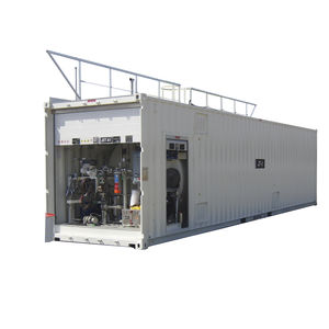 containerized refuelling station / for airports