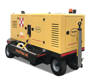 mobile ground power unit / for helicopters / DC / AC
