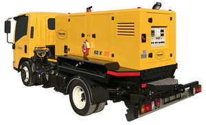 mobile ground power unit / for aircrafts / for helicopters / AC/DC