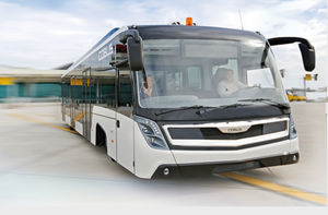 airport apron bus / 110 Pers. / climate-controlled / 14 seats