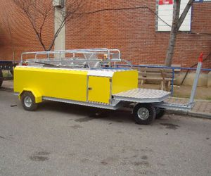 towed potable water cart / for airports