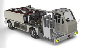self-propelled potable water truck / with lift platform / for airports