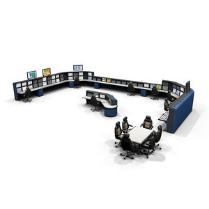 air traffic control console