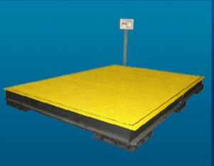platform weighing scale / for cargo / digital / for airports