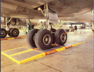 platform weighing scale / for aircraft / analog / for airports
