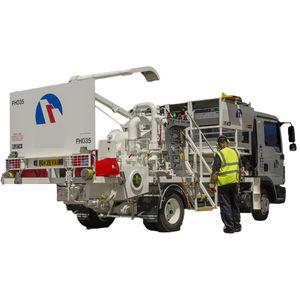 truck-mounted hydrant dispenser