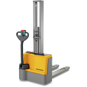 electric stacker truck / walk-behind / for airports