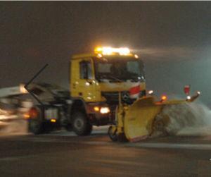 runway snow plow