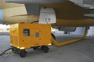 mobile PCA unit / electric / for aircraft