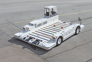pallet transporter / for containers / for airports