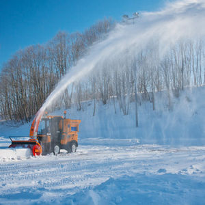 truck-mounted snow blower