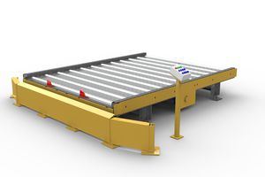dolly loading dock / for trucks / for airports