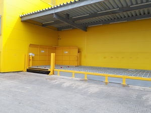 protective barrier / for airports / for material handling equipment