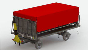 ground support baggage cart