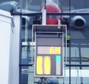advanced visual docking guidance system / for airports