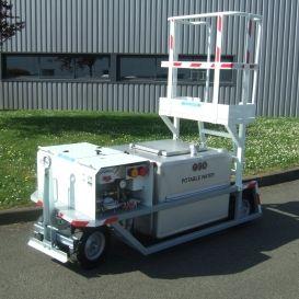 towed potable water cart