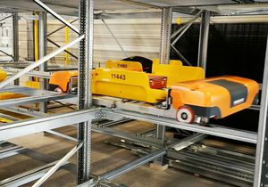 automated storage system / baggage / for airports