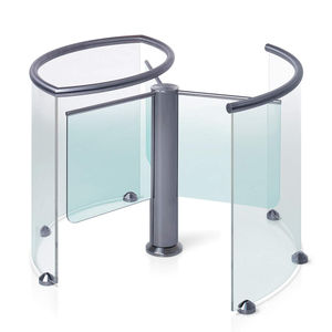half-height turnstile / for access control / for airports
