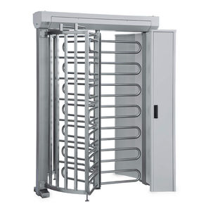 full-height turnstile / for access control / for airports