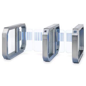 boarding e-gate with biometric reader