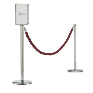 rope guidance barrier / for airports / round head