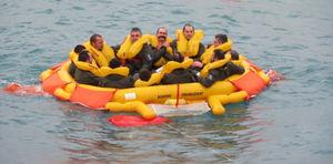 aircraft life raft