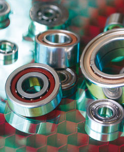 ball bearing / thin-section / high-precision / miniature