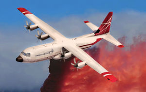 fire retardant water bomber aircarft / with turboprop