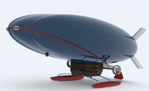 transportation airship / gas / semi-rigid / 0 - 10 Pers.