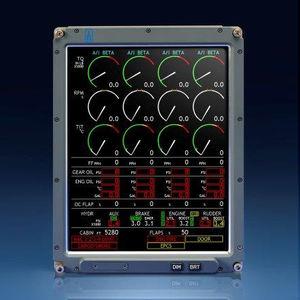 digital EICAS / for aircrafts