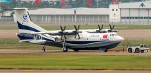 10 000 L + water bomber seaplane / water / 2500 - 5000 km / turboprop