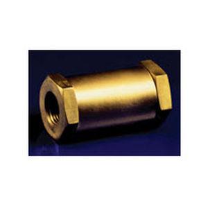 poppet check valve / female / compact
