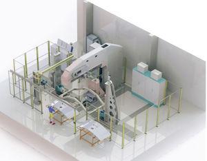 automatic assembly machine / riveting / for aeronautics