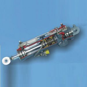 hydraulic actuator / linear / for aircraft / double-acting