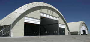 aircraft hangar / for airports