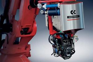 articulated robot / for machine tools / for the aerospace industry / multifunction