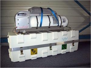 aircraft oxygen cylinder / emergency