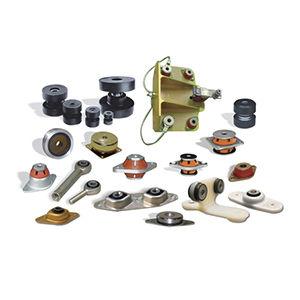 anti-vibration mount for the aviation industry / custom / elastomer