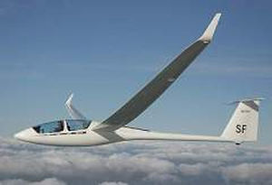 glider aircraft canopy / acrylic / multilayer