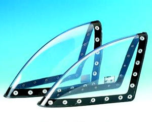 airliner aircraft light lens
