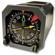 arm-mounted magnetic compass / for aircraft