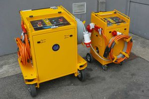 fixed ground power unit / mobile / for helicopter / for aircraft