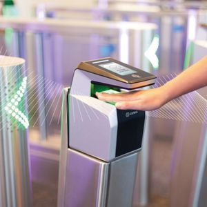 hand geometry scanner with optical sensor / for airports